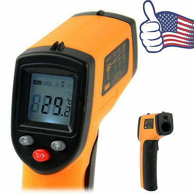 Nice Non-Contact LCD IR Laser Infrared Digital Temperature Thermometer Gun REG