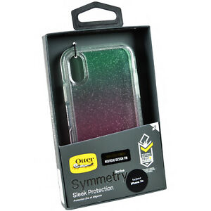 NEW-Genuine-OtterBox-Symmetry-Clear-iPhone-XR-Rugged-Slim-Case-Cover-GRADIENT
