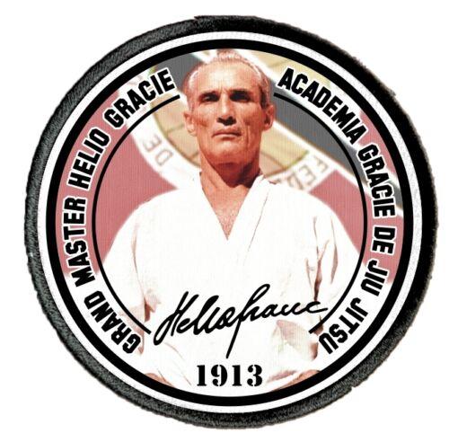 Helio Gracie BJJ Gi Patches Brazilian Jiu Jitsu Martial Arts Uniform 3230 Patch