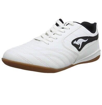 KangaROOS K-Yard 3021 B Herren Sneaker Hallenschuhe Sport Turn Lauf Weiß
