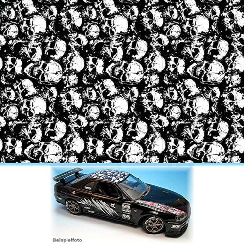 Flächenmuster Skull Muster No.1 Decal 1:24 Decal Abziehbilder Stickerbomb