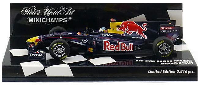Minichamps Red Bull 2011 Showcar - Sebastian Vettel 1 43 Scale
