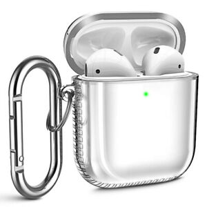 Clear Transparent Protective Charging Case Cover For Apple Airpods 1 2 Earpods Ebay