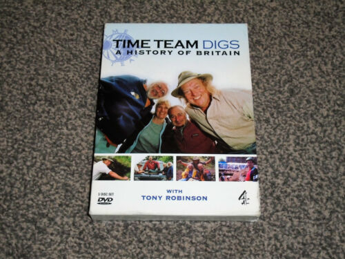 1 of 1 - THE TIME TEAM DIGS : A HISTORY OF BRITAIN -  DVD SET IN VGC (FREE UK P&P)
