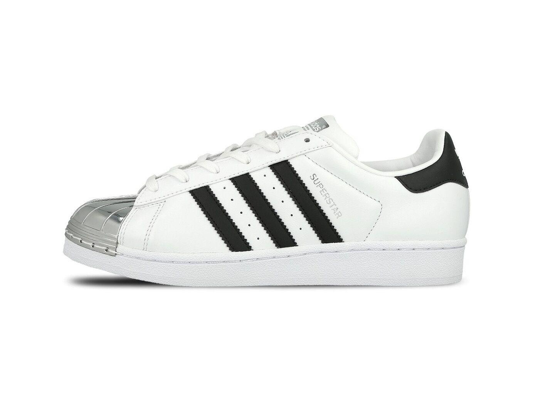 Adidas Superstar Zapatillas de mujer de metal del dedo del pie W - - BB5114-Nuevo