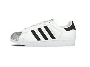 Détails sur Adidas superstar metal toe W Chaussures Femme Baskets BB5114 Neuf afficher le titre d'origine