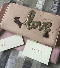 Radley Gift Boxed Love is in the Air Pink Leather Bifold Purse BNWT Brand New