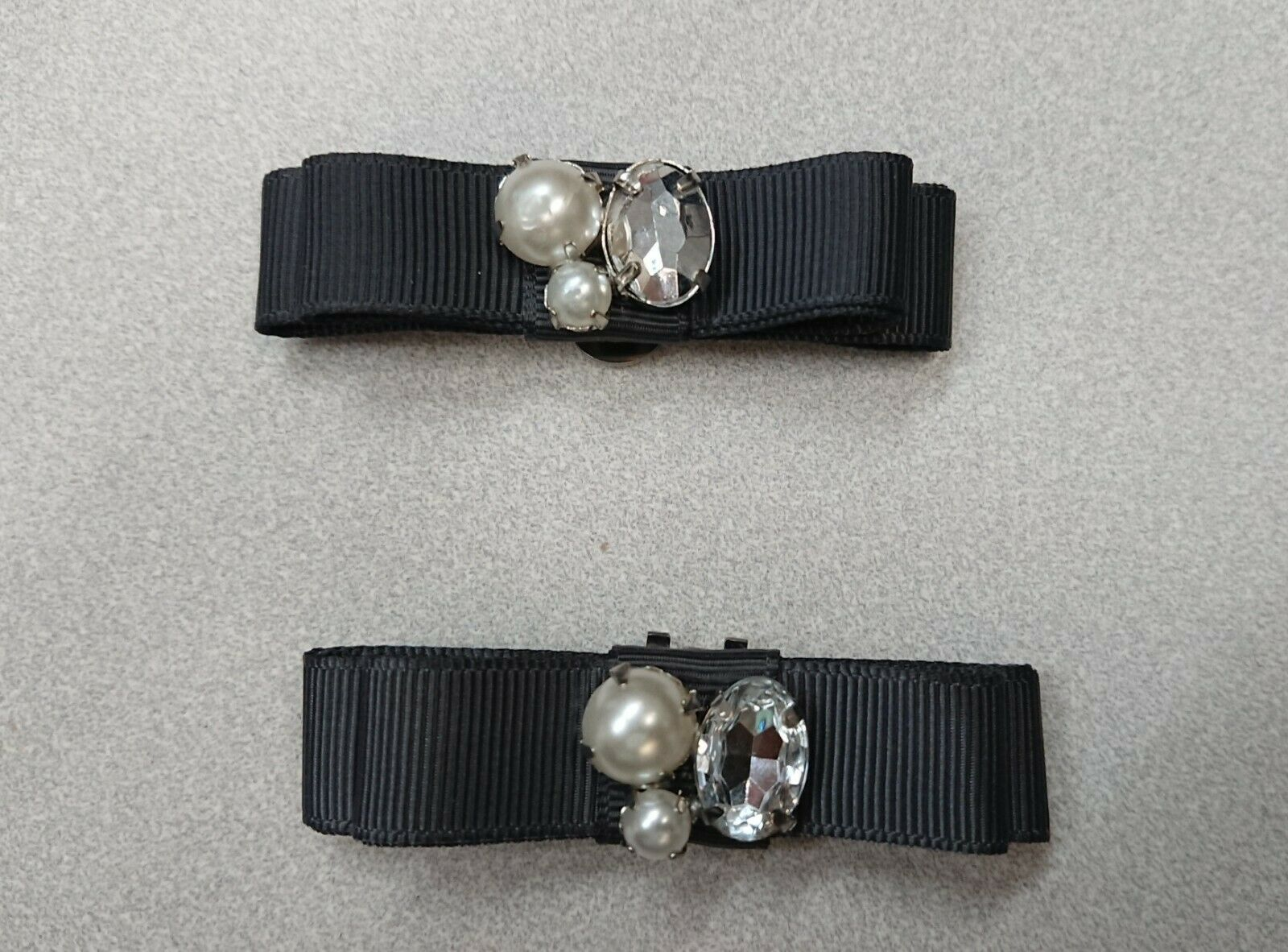 Shoe/Bag Buckles with gems (snap ons)