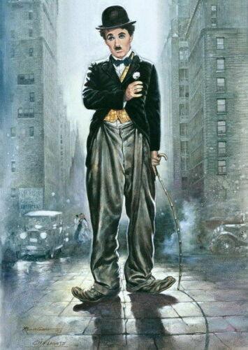 279553 Charlie Chaplin Modern Times RIP UK Actor PRINT GLOSSY POSTER DE