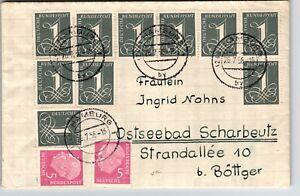 Germany-1956-Cover-Hamburg-to-Bottger-Z13444