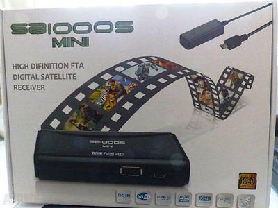 Rapimento Spiderbox 1000s Mini A Buon Mercato Satellite Hd Liberi Di Air + Gratis Darkgold Lnb 0.1db-