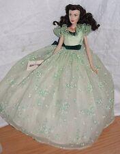 Gone With The Wind Franklin Mint Scarlett O'Hara Vinyl Portrait Doll BBQ