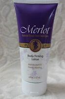 Merlot Natural Grape Seed Skin Care Body Firming Lotion Elasticity 6 Oz / 117 Ml