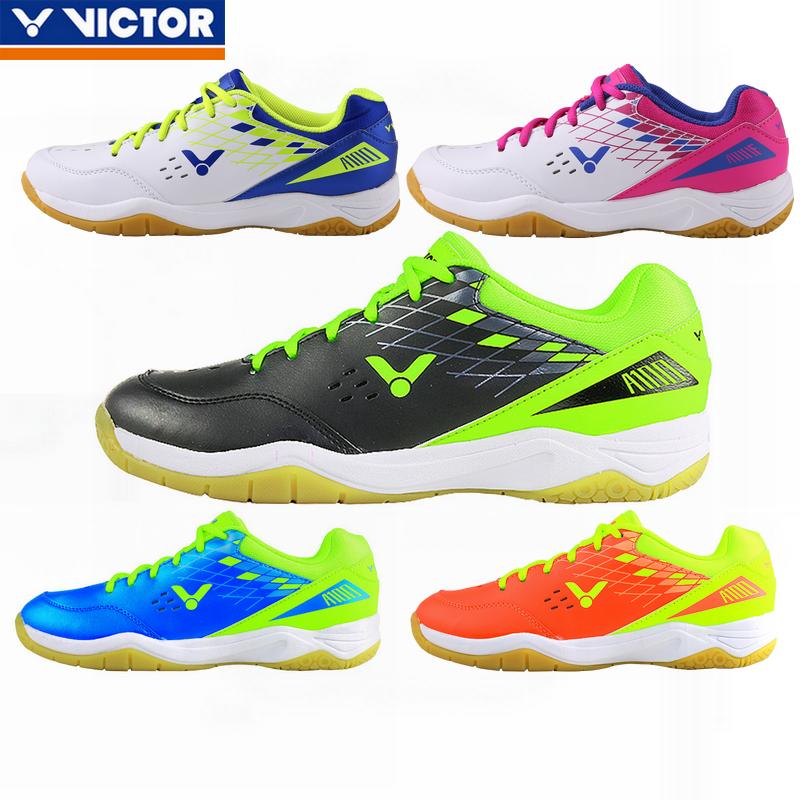 Victor Badminton Interior Tribunal Voleibol Deportivos Zapatos para hombres y mujeres SH-A100
