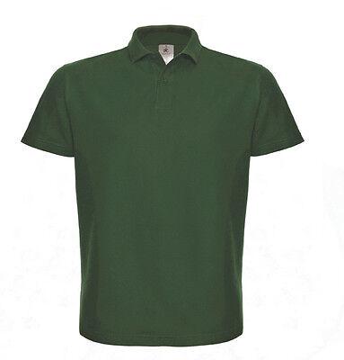 B&C Herren Kurzarm Polo T-Shirt verschiedene Farben und Größen S - XXXL
