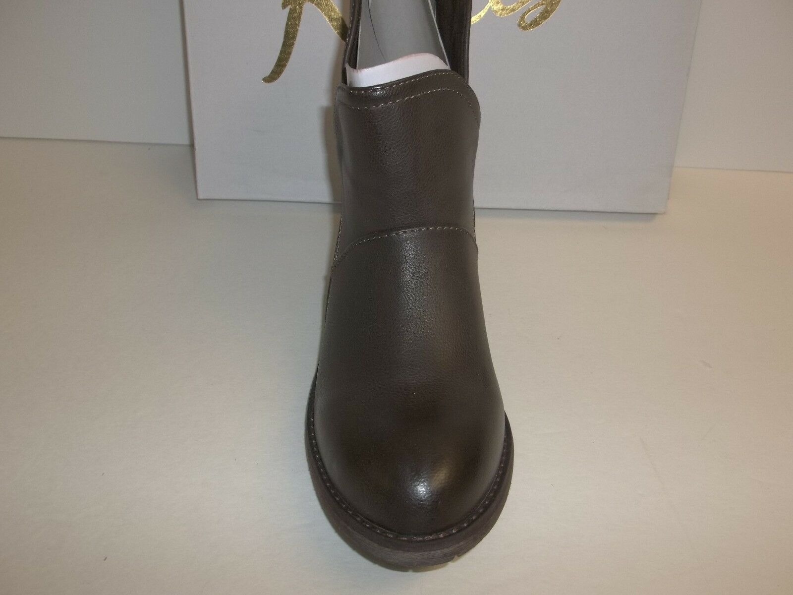 Rebels Ankle Size 6.5 M Ellis Taupe Brown Ankle Rebels Boots New Donna Shoes 56d779