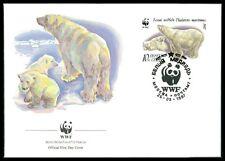 RUSSIA FDC 1987 FAUNA TIERE WWF EISBÄREN EISBÄR POLAR BEAR OURS BLANC au90