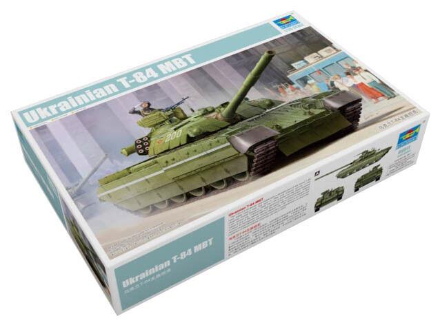 Trumpeter 9369511 Ukrainischer Kampfpanzer T-84 MBT 1 35 Fahrzeug Modellbausatz  | Eine Große Vielfalt An Modelle 2019 Neue