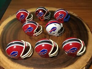 8-Riddell-Pocket-Pro-Football-Helmets-Buffalo-Bills