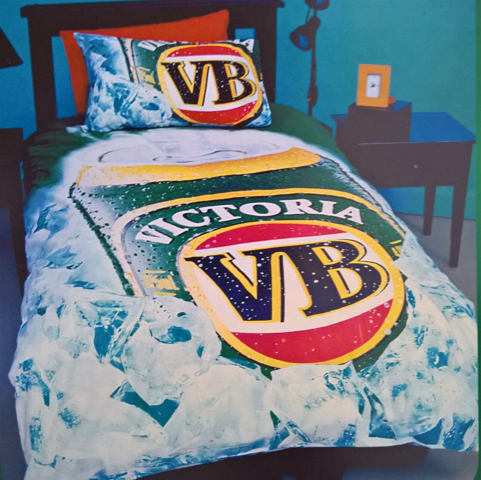 VB Victoria Bitter - DOONA   QUILT   DUVET COVER ICE
