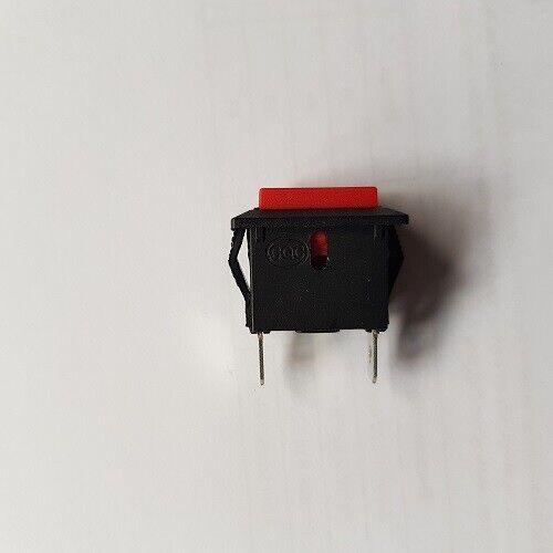 Wippschalter Gaspedal Schalter rot 2-polig Kinderauto Elektrofahrzeug