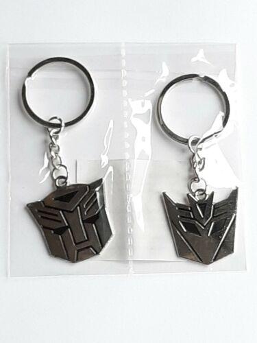 Transformers paire de Porte-Clés Nouveau
