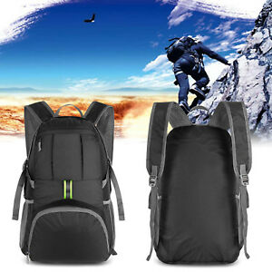 Details about Hiking Backpack Daypack Waterproof Durable Packable  Lightweight Travel Case 35L e1e7e733c983a