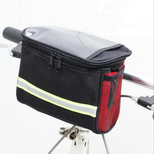 Net Bike Handlebar Bag Bicycle Front Basket Outdoor Cycling Equipment Bike Bag