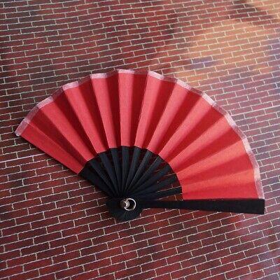 """Red Paper Floding Fan Prop 6cm for 1//6 11/"""" BJD YOSD dk dollfie volks photograph"""