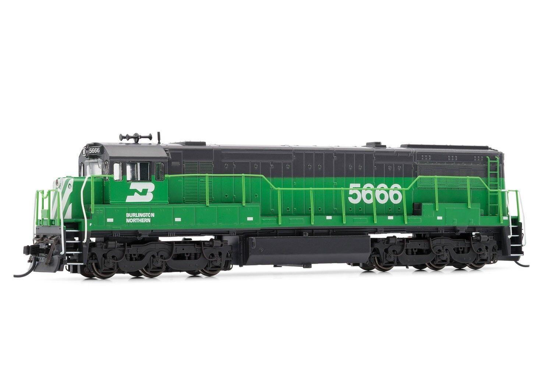 Arnold Burlington Northern Ge U28C DCC Bereit  5666 n Maßstab Lokomotive HN2317