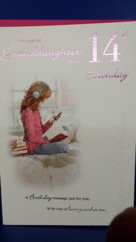 Granddaughter 14th Birthday card