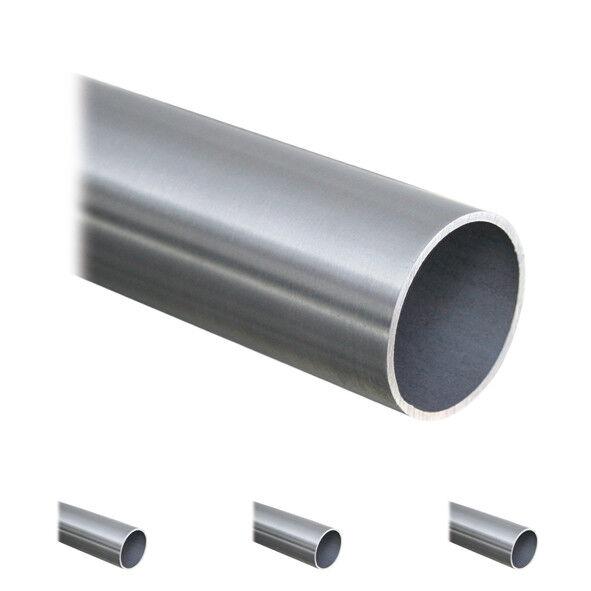 Edelstahl Rundrohr V2A /Ø 42,4x2mm 2,5cm auf Zuschnitt L/änge 25mm K240