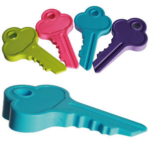 New large key shaped door stopper wedge rubber doorstop jam novelty durable fun ebay - Novelty doorstop ...
