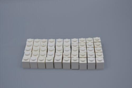 LEGO 50 x Basisstein 1x1 weiß white basic brick 3005 300501
