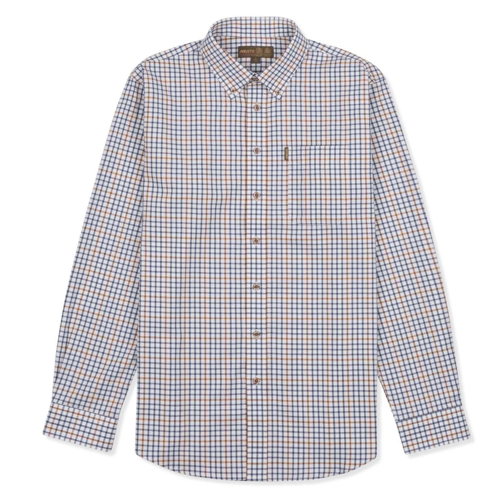 Musto Classic Button Down Shirt - Keldy bluee