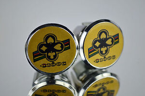 Bar End Caps Ciocc silver Handlebar End Plugs endcaps vintage NEW