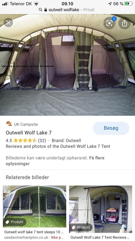 Outwell Wolflake 7