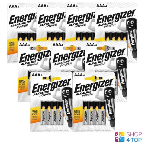 36 energizer aaa alkaline battery lr03 power 1.5v micro mn2400 am4 e92