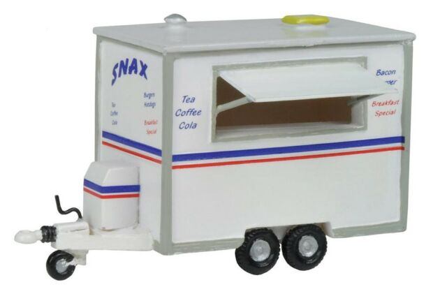 Bachmann 44-512 Snack Bar Trailer 1/76 Scale = 00 Gauge New Boxed Tracked48 Post