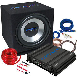 Car Hifi Anlage : crunch cbp500 auto car hifi komplett anlage set kfz 500 ~ Kayakingforconservation.com Haus und Dekorationen
