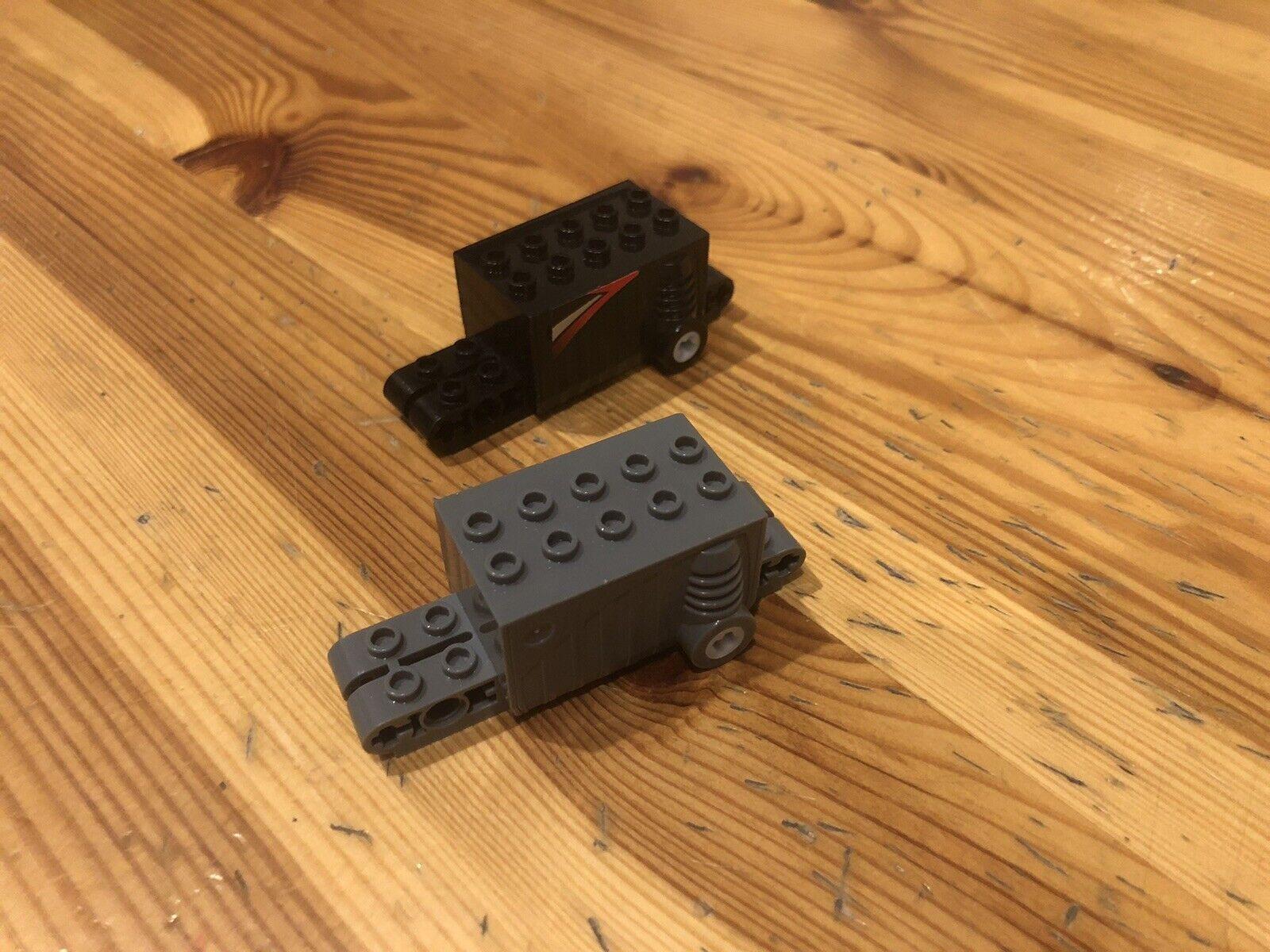 Lego 3 Stück 47715 neu-dunkelgrau Rückziehmotor Pullback
