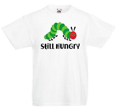 Bambini Still Hungry Caterpillar T-shirt - Mondo Libro Giorno Lettura Completo Meno Caro