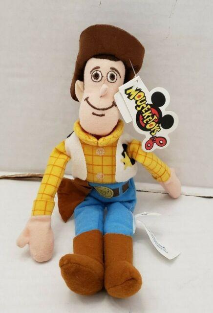 Disney World Disneyland WOODY Bean Bag Toy Story Doll ...