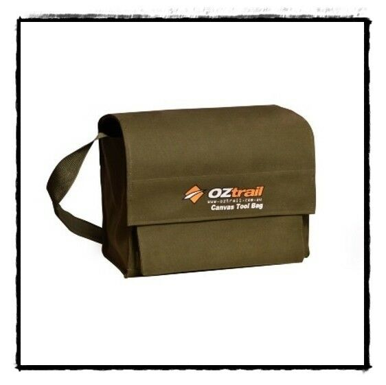 OZtrail Canvas Tool Manager Tasche BPC-TOOLM-D PVC Carry All Camping 4WD Caravan