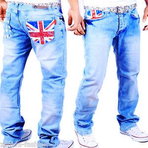Inghilterra Great Britain Cargo Jeans Stile Kosmo Designer Pantaloni Uk Gb Uomo qwwU0ZY