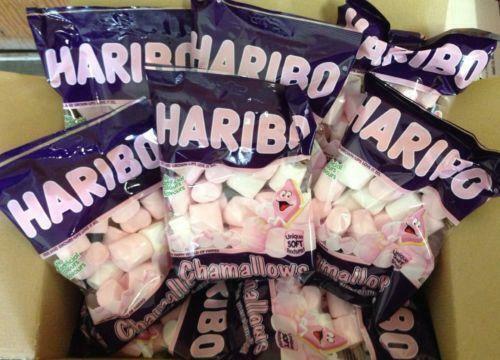 HARIBO CHAMALLOWS MARSHMALLOWS 12 x 150g Bags - Wholesale Box