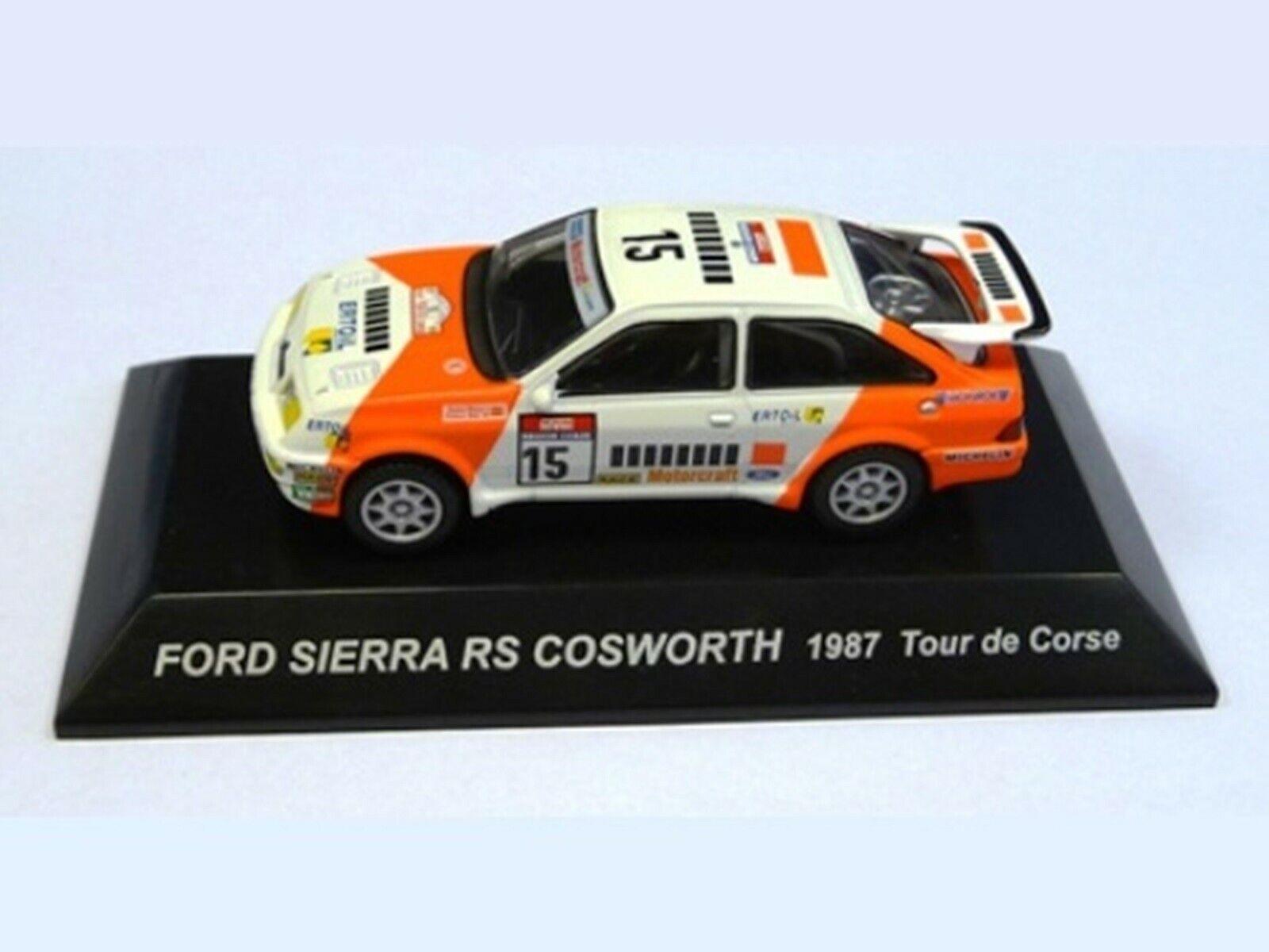 WOW estremamente raro raro raro Ford Sierra RS Cosworth 1987 RWD TdCorse WRC 1 64 CM 'S KYOSHO c235dd