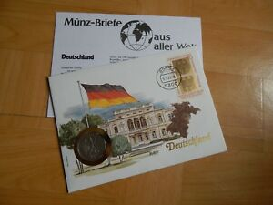 1 X Münz-briefe Aus Aller Welt Deutschland 1 Billigverkauf 50%