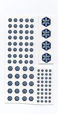 Battletech miniatures Clan and IS Insignia decals- Clan Ghost Bear
