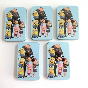 Tin-Box-Gift-Card-Holders-Despicable-Me-Minions-Any-Occasions-Lot-of-5